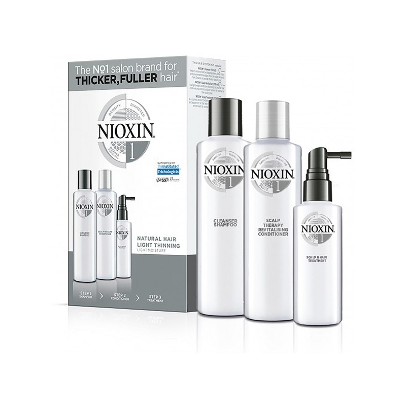 Kit Soin Nioxin N°1 Cheveux Normaux et Naturels